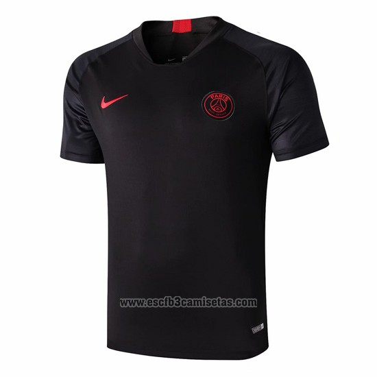 Camiseta de Entrenamiento Paris Saint-Germain 2019 2020 Negro